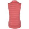 View Extra Image 1 of 2 of PUMA Golf Rotation Stripe Sleeveless Polo - Ladies'