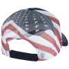 View Extra Image 1 of 2 of Flag Mesh Back Trucker Cap