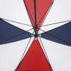 """View Extra Image 3 of 3 of ShedRain WINDJAMMER Vented Golf Umbrella - Red/White/Blue - 62"""" Arc"""