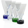 """View Image 4 of 4 of Valiant Crystal Award - 8"""""""