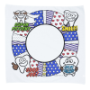 View Extra Image 1 of 1 of Super Kid Color Me Bandana - Tooth Time