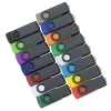 View Image 5 of 5 of Swivel USB-C Drive - Black - 8GB