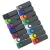View Extra Image 4 of 4 of Swivel USB-C Drive - Black - 16GB