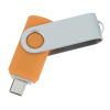 View Extra Image 1 of 4 of Swivel USB-C Drive - 8GB - 24 hr
