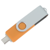 View Extra Image 2 of 4 of Swivel USB-C Drive - 8GB - 24 hr