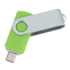 View Extra Image 1 of 4 of Swivel USB-C Drive - 32GB - 24 hr