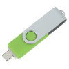 View Extra Image 2 of 4 of Swivel USB-C Drive - 32GB - 24 hr