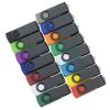 View Extra Image 4 of 4 of Swivel USB-C Drive - Black - 32GB - 24 hr