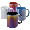 View Extra Image 1 of 1 of Vibrant Iridescent Coffee Mug - 11 oz.