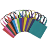 "View Extra Image 1 of 1 of Spree Shopping Tote - 13"" x 13"" - Full Color"