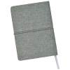 View Extra Image 2 of 4 of Heathered Linen Notebook