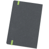 View Image 3 of 4 of Recycled Bonded Leather Notebook