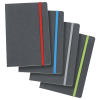 View Image 4 of 4 of Recycled Bonded Leather Notebook