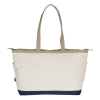 View Extra Image 1 of 2 of Shoreline 18 oz. Cotton Tote - Embroidered