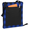 View Extra Image 1 of 2 of Buffalo Check Fold Up Picnic Blanket with Carrying Strap