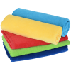 View Extra Image 2 of 2 of Midsize Velour Beach Towel - Colors