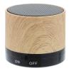 View Image 3 of 5 of Allegro Wood Grain Bluetooth Speaker