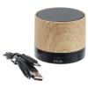 View Image 4 of 5 of Allegro Wood Grain Bluetooth Speaker