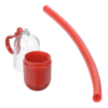 View Extra Image 1 of 3 of Silicone Straw in Capsule Carabiner Case