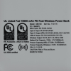 View Image 5 of 5 of Fad Wireless Power Bank - 10,000 mAh