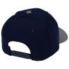 View Extra Image 1 of 1 of Yupoong Curved Visor Snapback Cap