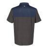View Extra Image 1 of 2 of IZOD Colorblocked Space-Dyed Polo