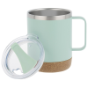 View Extra Image 1 of 2 of Explorer Vacuum Camp Mug with Cork Bottom - 12 oz.