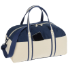 View Extra Image 1 of 2 of Nantucket Cotton Weekender Bag - Embroidered
