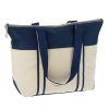 View Extra Image 1 of 2 of Nantucket 12 oz. Cotton Boat Tote - Embroidered
