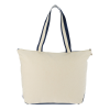 View Extra Image 2 of 2 of Nantucket 12 oz. Cotton Boat Tote - Embroidered