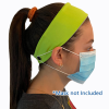 View Extra Image 1 of 3 of Cooling Headband with Face Mask Buttons