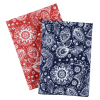 View Extra Image 3 of 3 of Prims Paisley Bandana - 22 inches x 22 inches