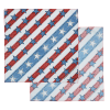 View Extra Image 1 of 8 of Patriotic Bandana - 22 inches x 22 inches