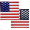 View Extra Image 2 of 8 of Patriotic Bandana - 22 inches x 22 inches