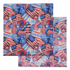 View Extra Image 3 of 8 of Patriotic Bandana - 22 inches x 22 inches