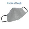 View Extra Image 3 of 4 of Comfy 2-Ply Face Mask with Lanyard