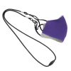 View Extra Image 1 of 5 of Comfy 2-Ply Face Mask with Lanyard - Youth
