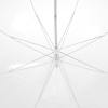 View Extra Image 2 of 2 of Clear Bubble Umbrella - 48 inches Arc