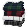 View Image 3 of 3 of Flannel Sherpa Blanket