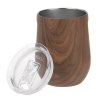 View Extra Image 1 of 2 of Corkcicle Stemless Wine Cup - 12 oz. - Wood
