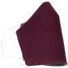 View Extra Image 2 of 4 of Brushed Cotton Twill Face Mask - Full Color