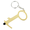 View Extra Image 1 of 4 of Touchless Bottle Opener with Stylus Keychain - 24 hr