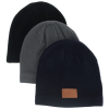 View Extra Image 3 of 3 of Classic Textured Knit Beanie
