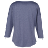 View Extra Image 1 of 4 of OGIO Performance Stretch 3/4 Sleeve Shirt - Ladies'