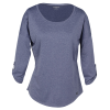 View Extra Image 2 of 4 of OGIO Performance Stretch 3/4 Sleeve Shirt - Ladies'