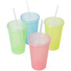 View Extra Image 1 of 1 of Color Changing Tumbler with Straw - 22 oz.