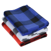 View Extra Image 1 of 1 of Buffalo Plaid Fleece Blanket - 24 hr