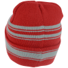 View Extra Image 4 of 4 of Striped Cuff Beanie and Glove Set