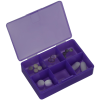 View Extra Image 1 of 3 of Pill Box with Antimicrobial Additive