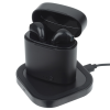 View Image 7 of 9 of Oros True Wireless Auto Pair Ear Buds with Wireless Charging Pad